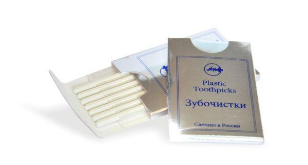 Набор пластиковых зубочисток